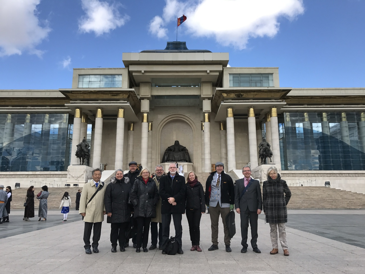BMBF.Delegation to Mongolia